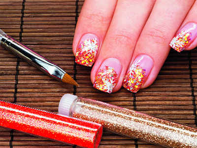 Ethnic nail art styles for festive season times of india prinsesfo Gallery