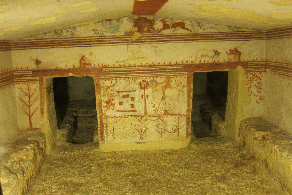 Tarquinia - Monterozzi Necropolis