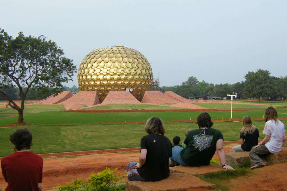 Volunteering at Auroville