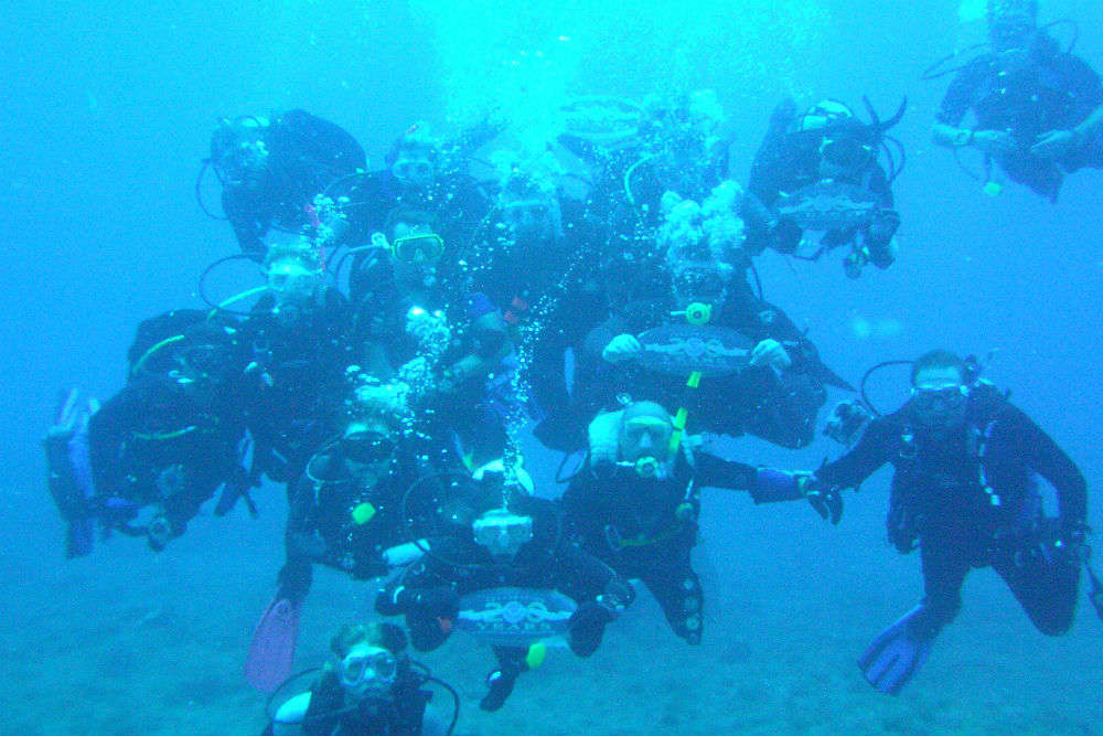 Scuba Diving at Temple Adventures