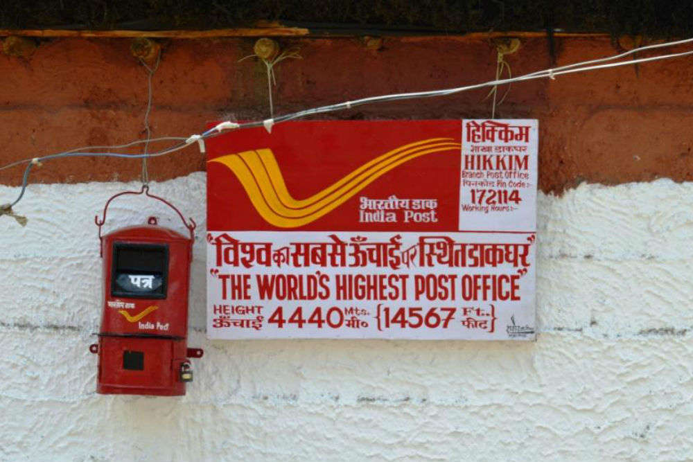 Visit the world's highest post office