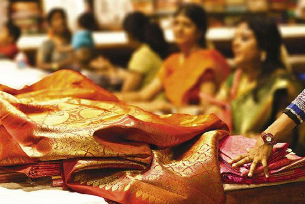 Popular sarees of Kolkata