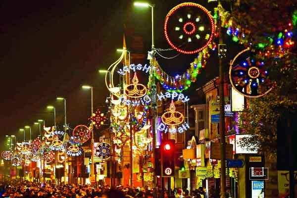 Diwali Celebrations Start Off In Leicester, England -1251
