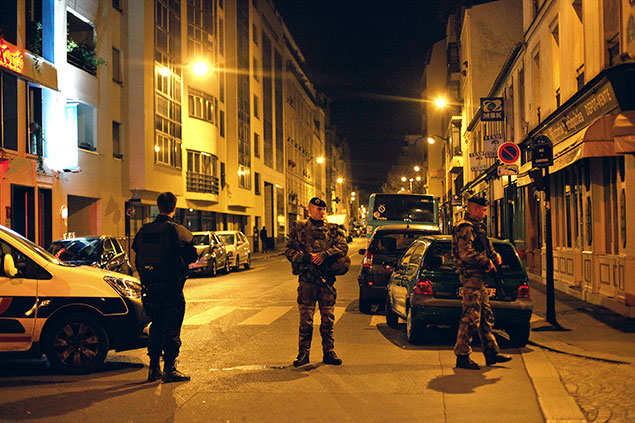 Terror attacks in Paris : Second suspected Paris attacker