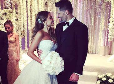 Sofia Vergara and Joe Manganiello are now married