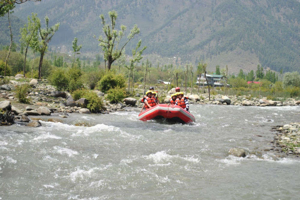 Rafting in Lidder River