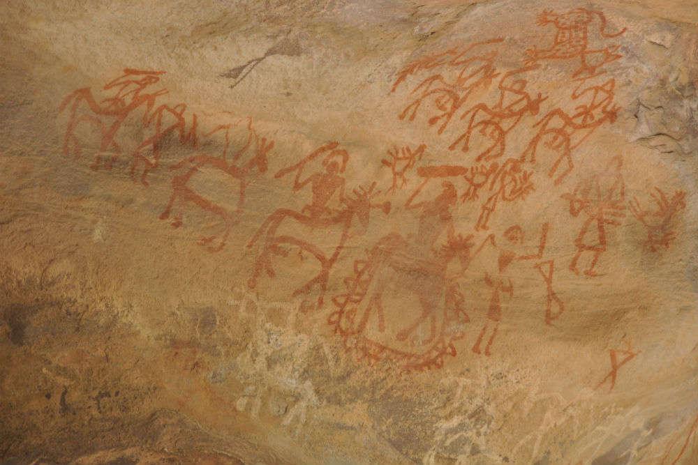 Prehistoric art at Bhimbetka