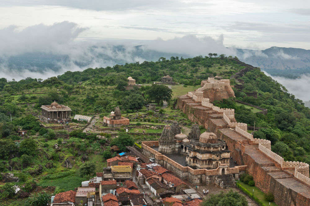 Kumbhalgarh Fort Wall: the longest after the Great Wall of China