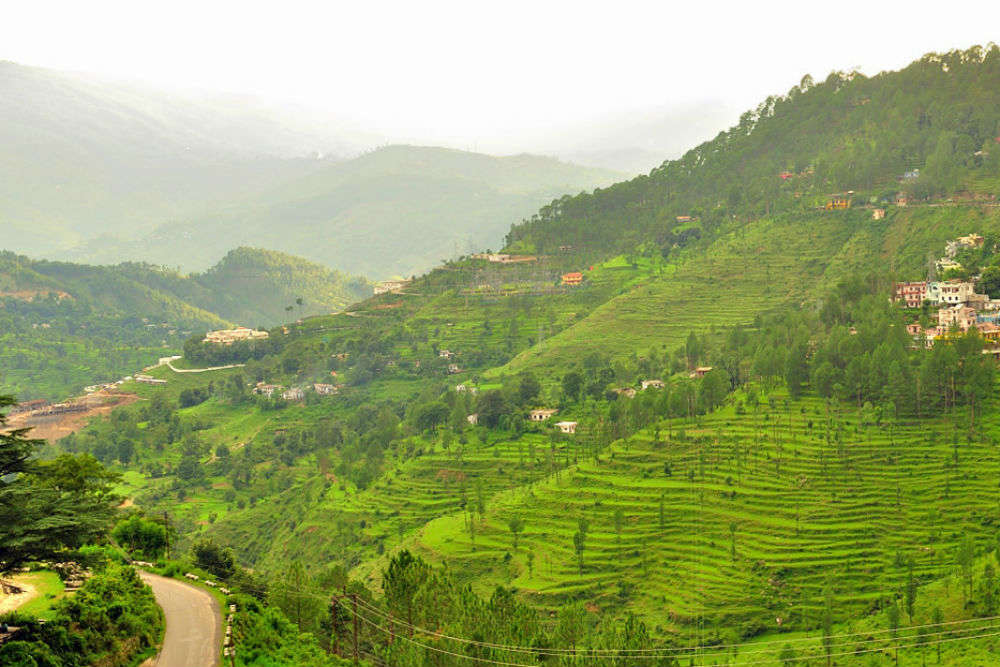The many interesting attractions en route from Almora to Nainital