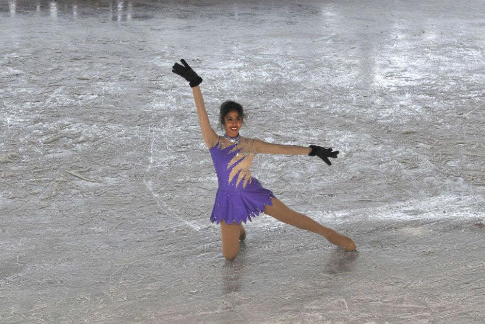 Go ice skating at the rink