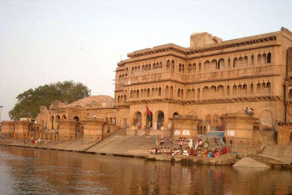 Bathing at Keshi Ghat