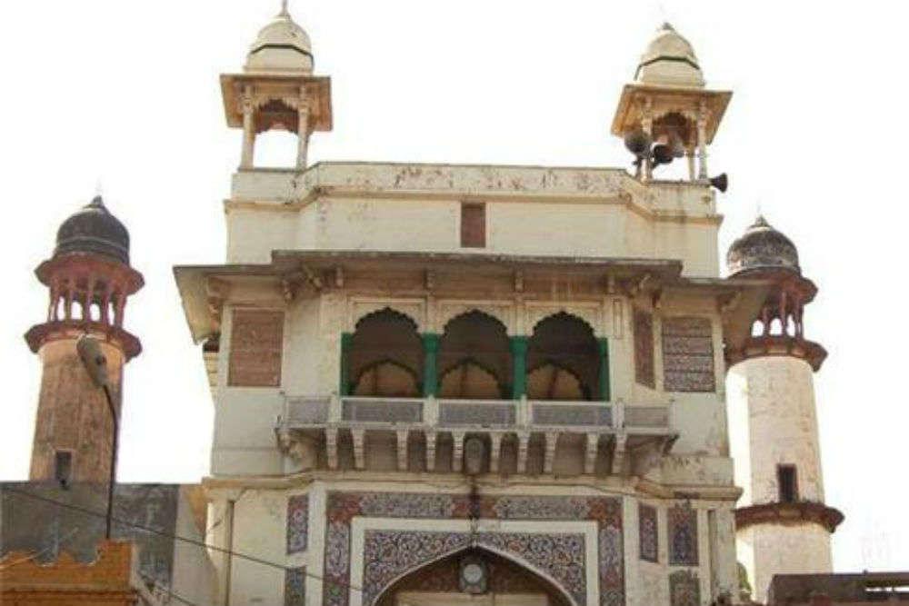 Visiting the Jama Masjid