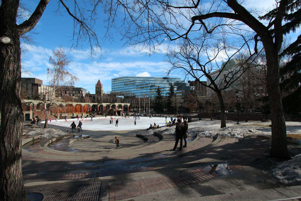 Popular winter activities in Calgary