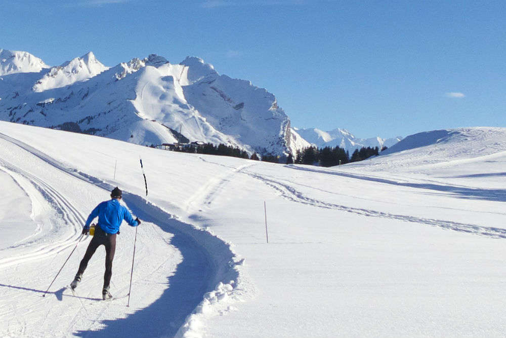 Try cross country skiing
