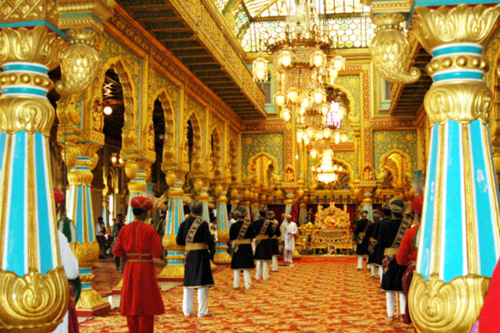 Golden Throne and Durbar Hall