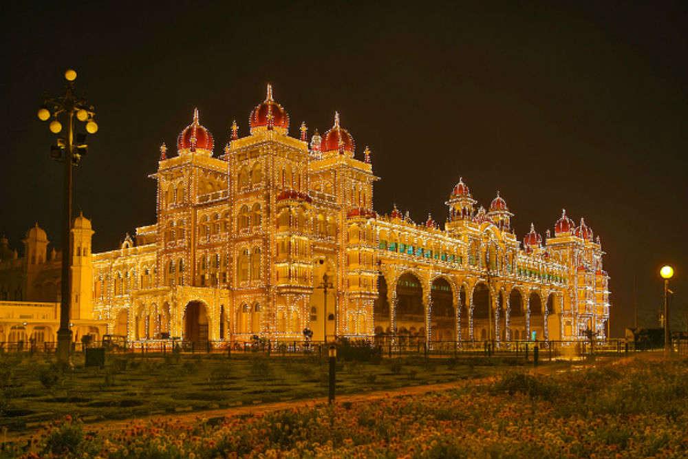 Palace illumination