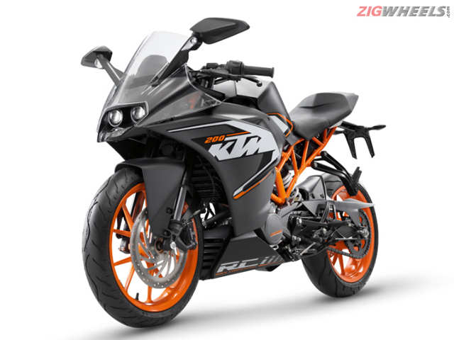 Ktm Launches Updated Rc And Duke Range Times Of India