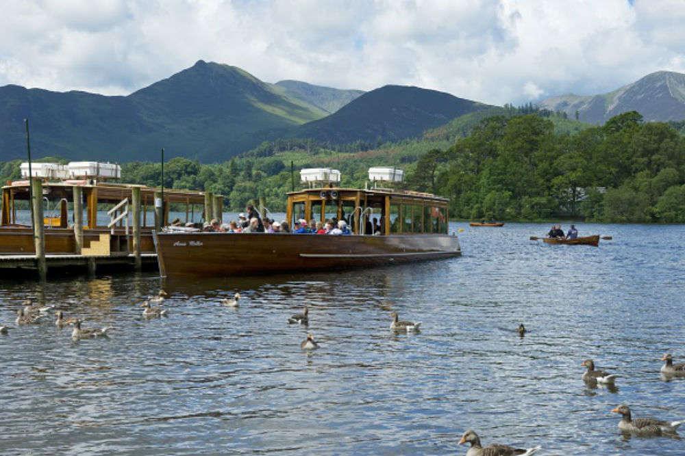 Derwentwater Lake cruise