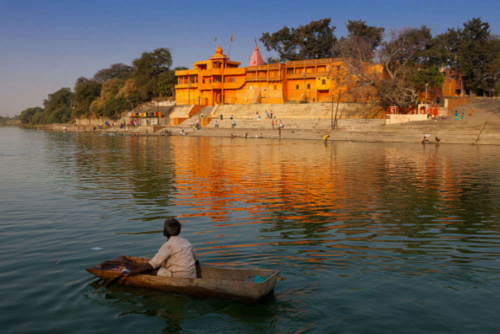 The holy town of Ujjain