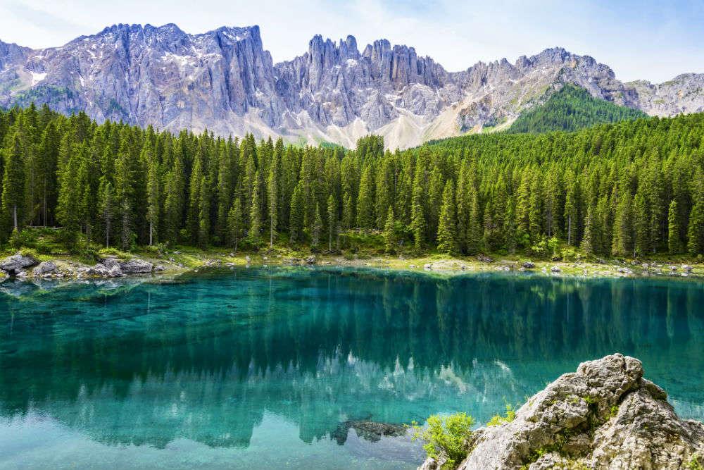 Karersee Lake