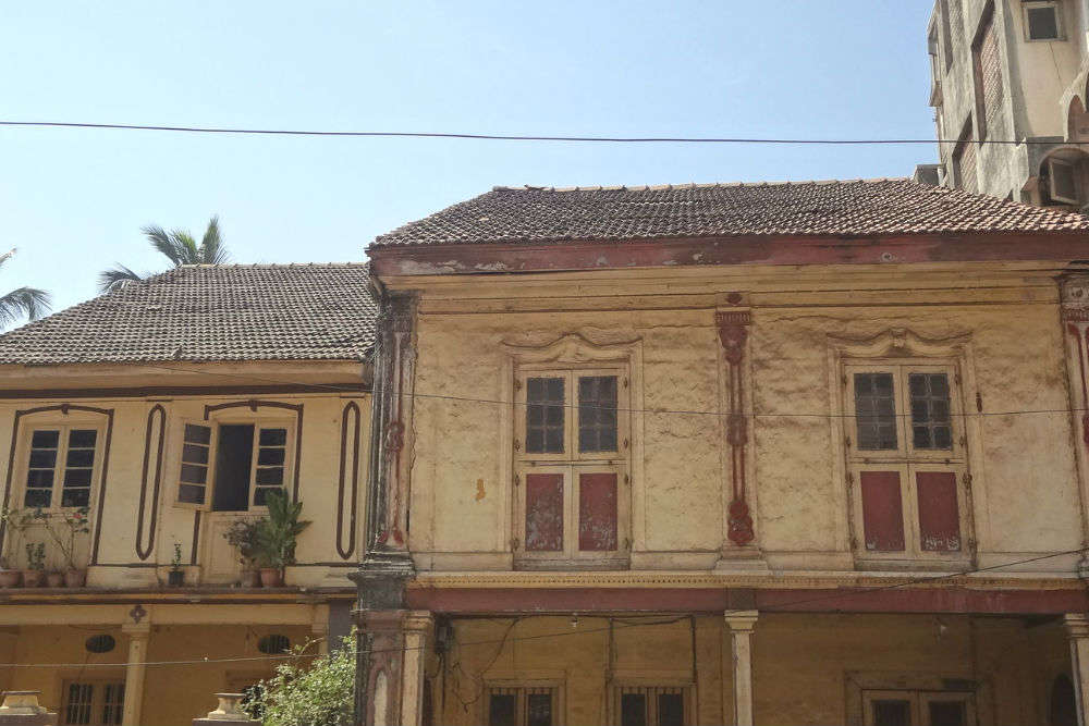 Old quarters of Nani Daman