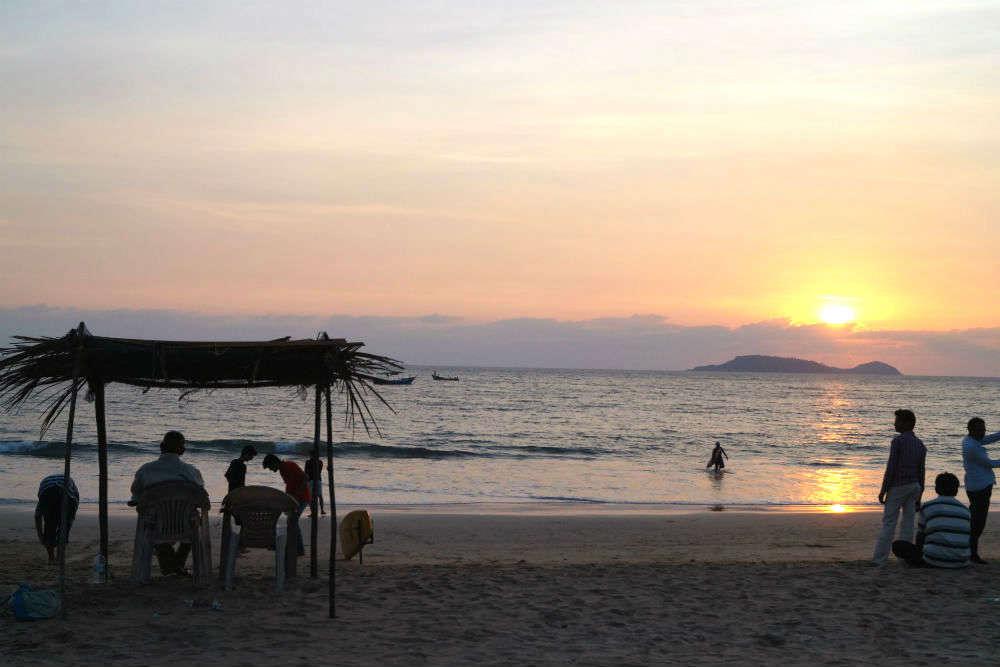Bogmalo Beach