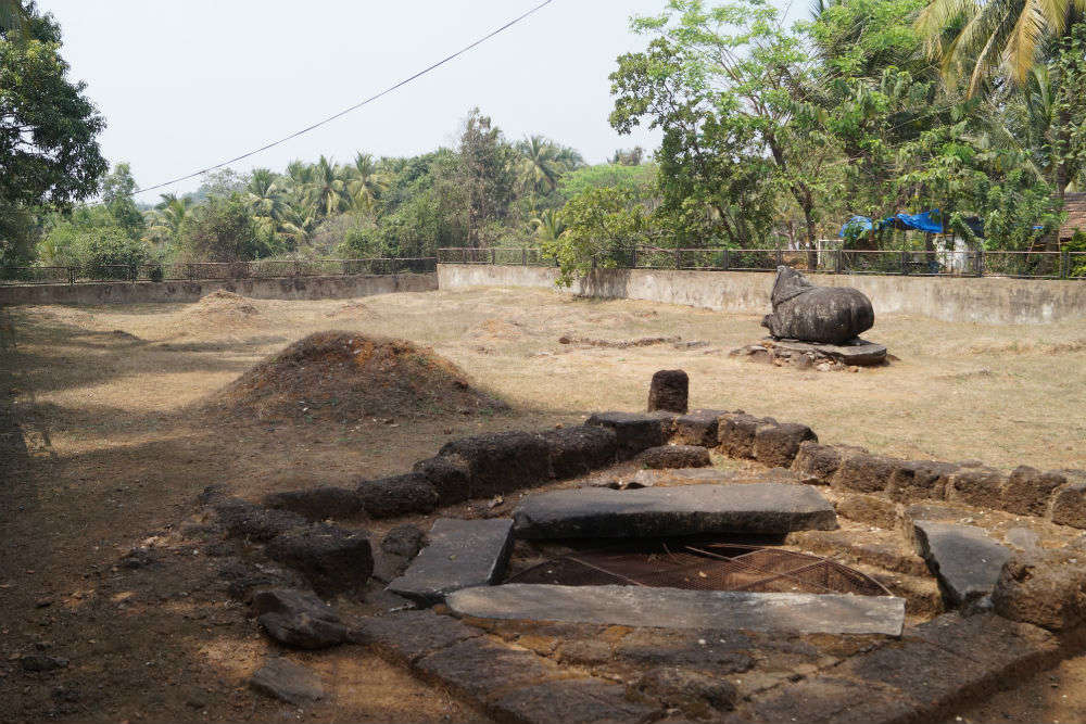 Isvorachem, Shiva Temple Relics