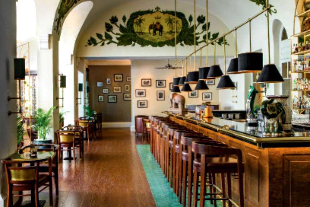 The Elephant Bar, Raffles Hotel