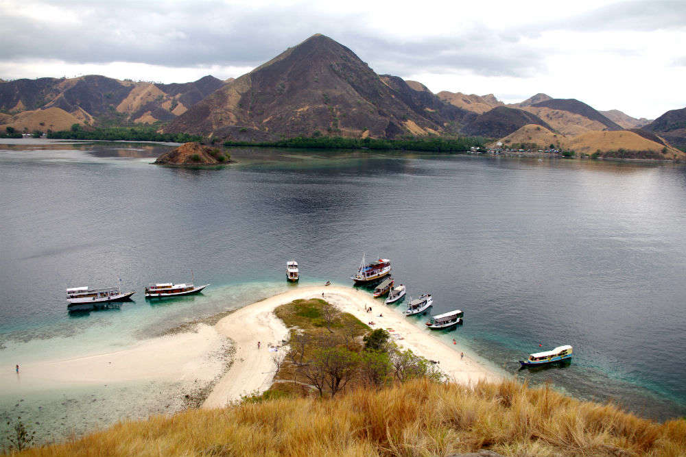 Exploring Indonesia's Komodo National Park in a day