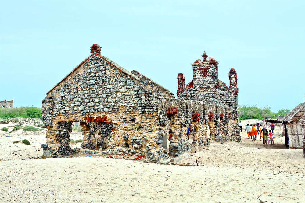 Dhanushkodi—the no man's land