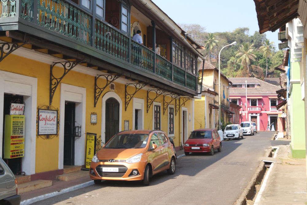 Fontainhas and Sao Tome