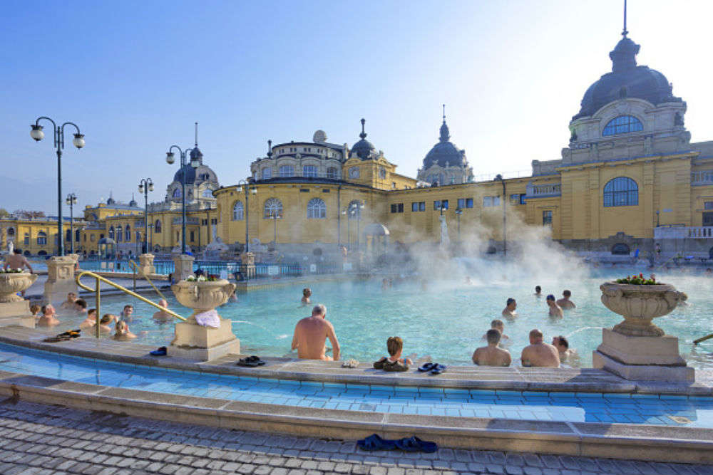 Take a dip in natural thermal baths of Budapest