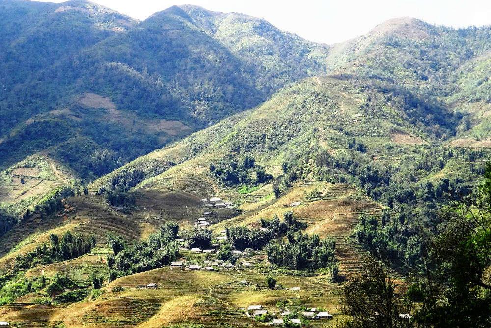 Hamlets in Sapa Valley