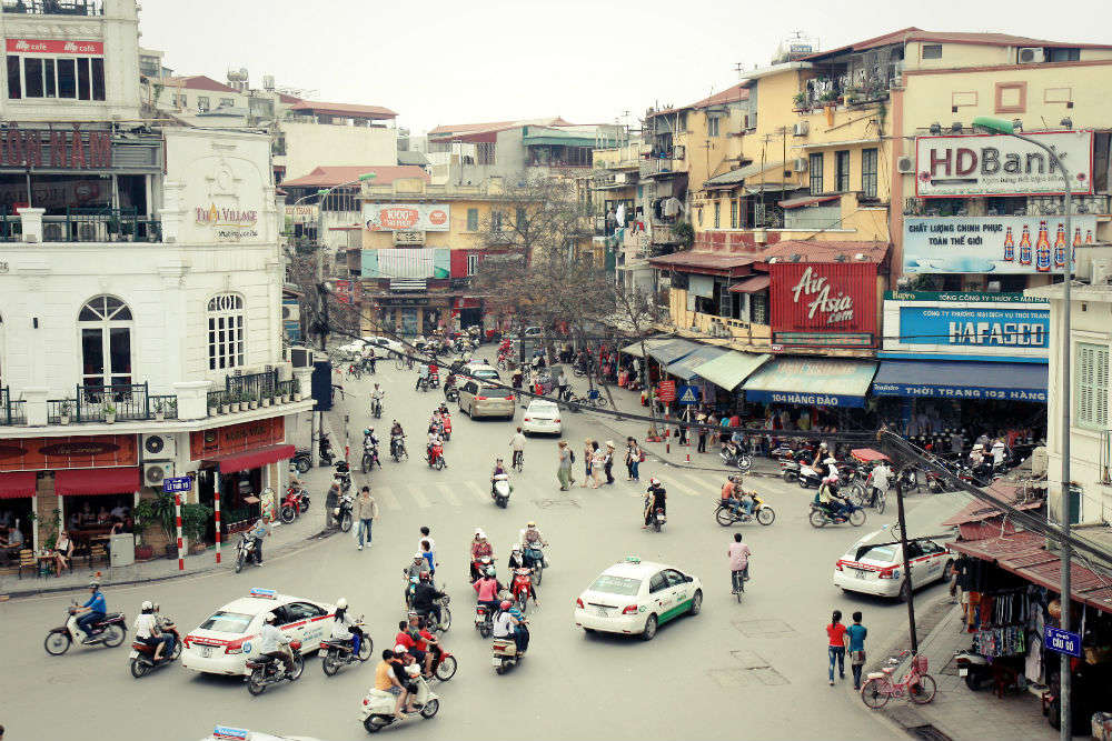 Old quarter of Hanoi