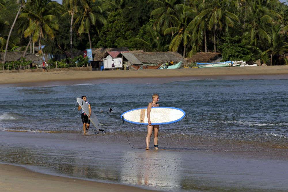 Arugam Bay—surfer's paradise