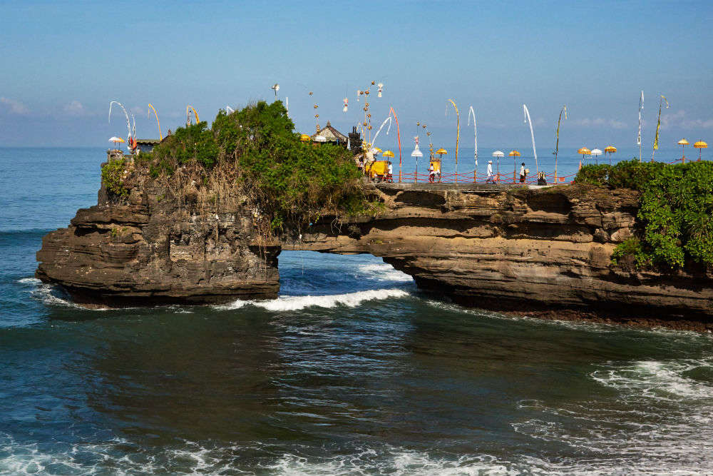 Pura Tanah Lot—the stunning sea temple