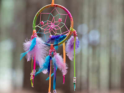 Dream Catcher Purpose Enchanting Dream Catchers Do They Really Catch Dreams Times Of India