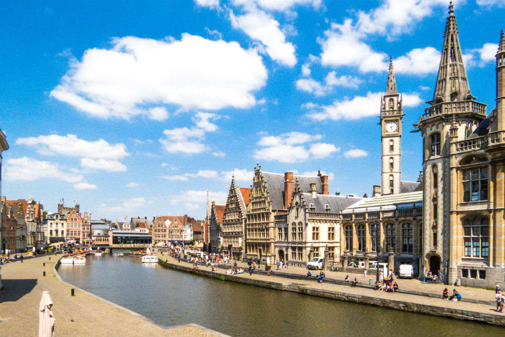 The goodness of Ghent: the city of canals, churches, and medieval-era edifices