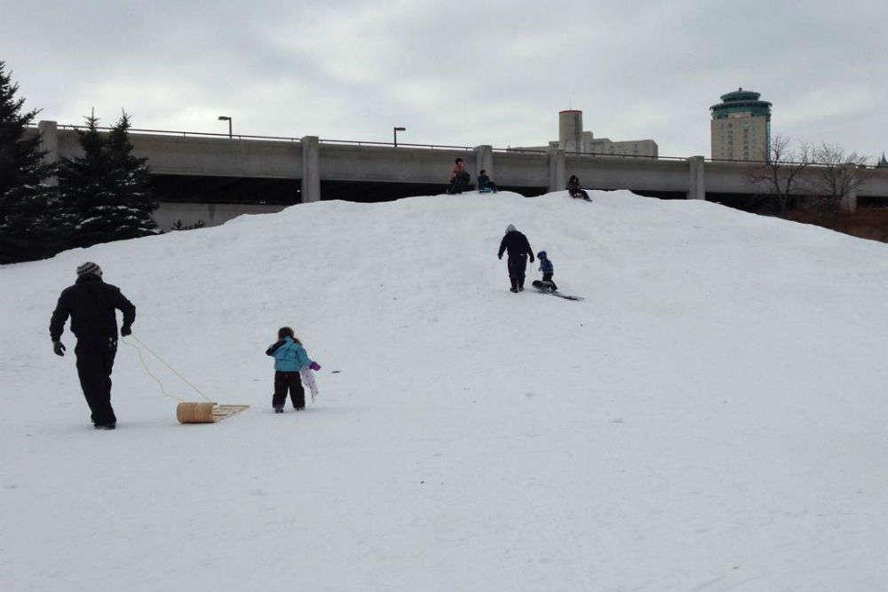 Play at Arctic Glacier Winter Park