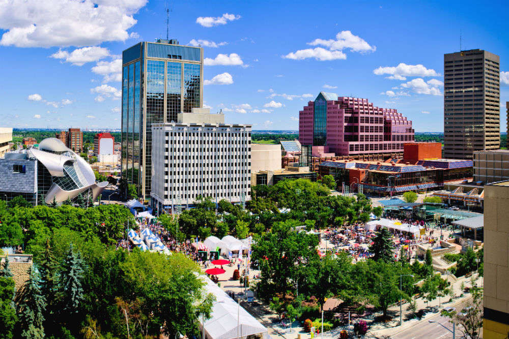 Popular places to visit in Edmonton