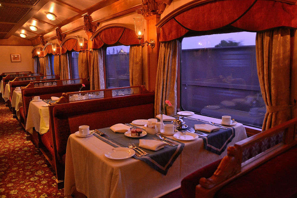 Spending seven nights in the luxurious train 'Deccan Odyssey'
