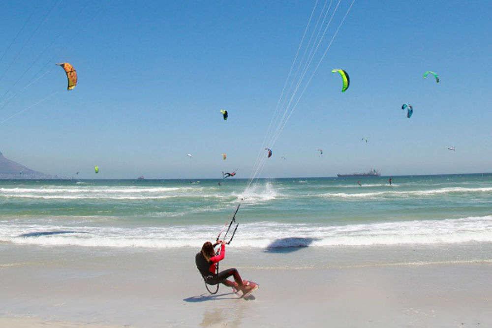 Kiteboarding at Kiteboarding Asia