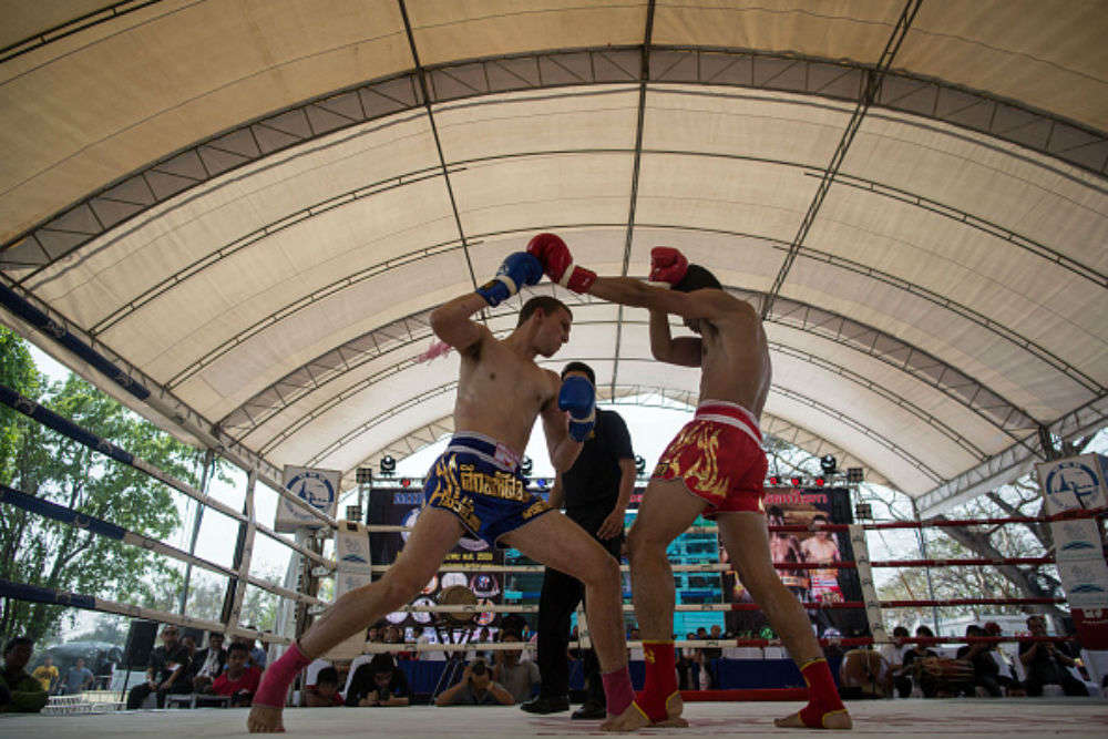 Get trained in Muay Thai