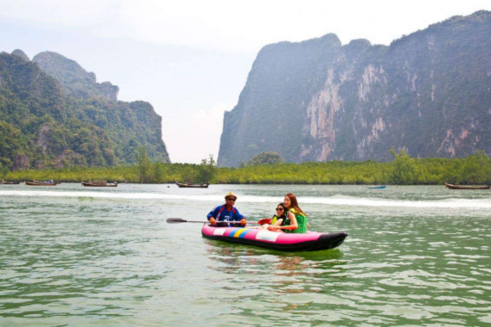 Sea kayaking with John Gray's Sea Canoe