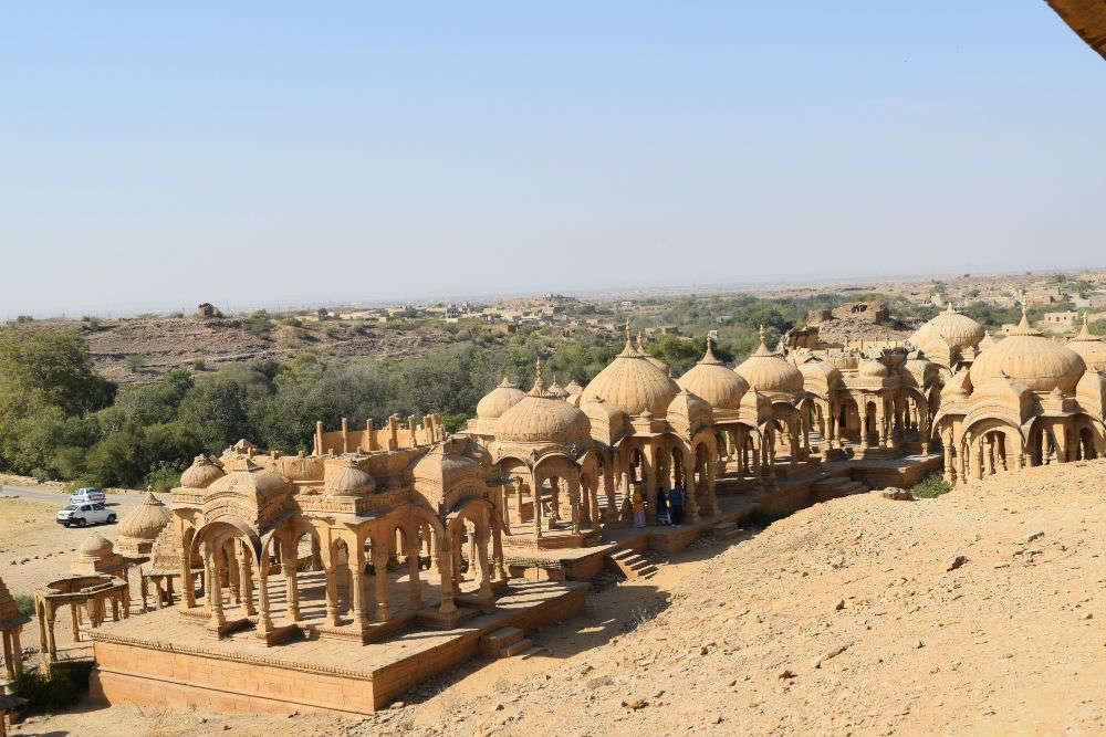 Bada Bagh cenotaphs