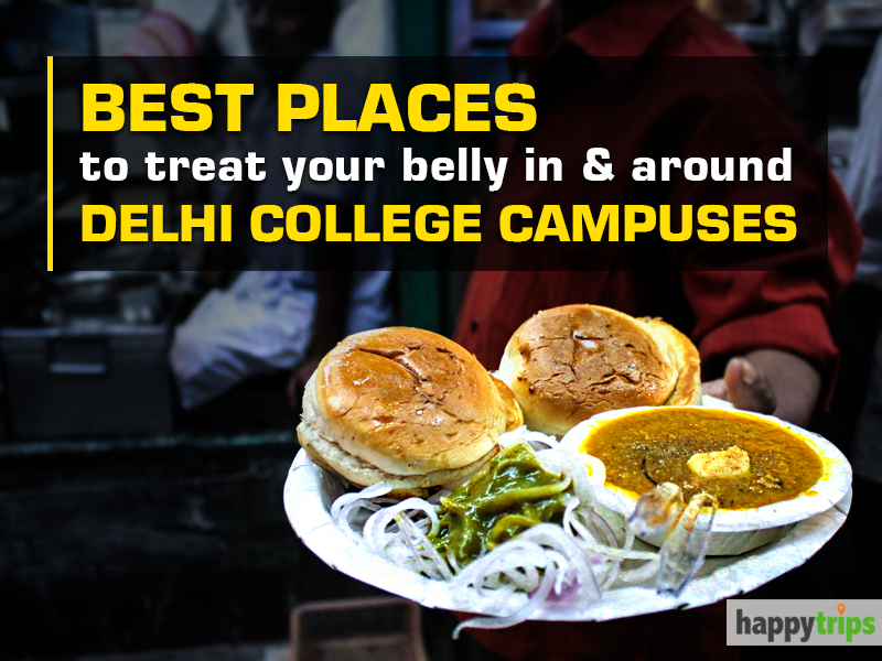Delhi college campus joints that serve delicious food