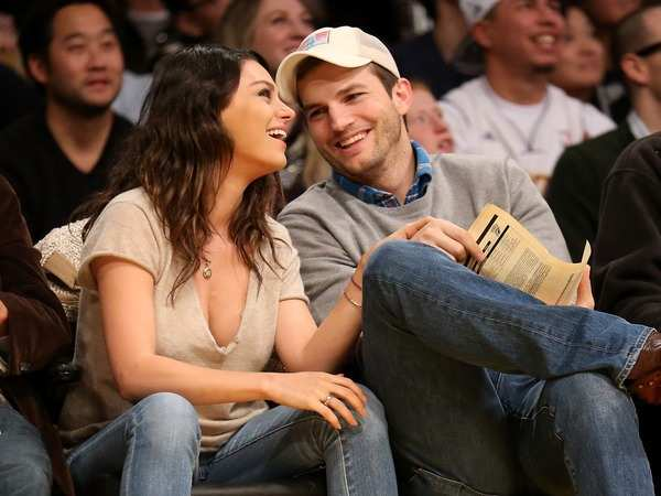 Mila Kunis Mila Kunis Ashton Kutcher bought their wedding rings on