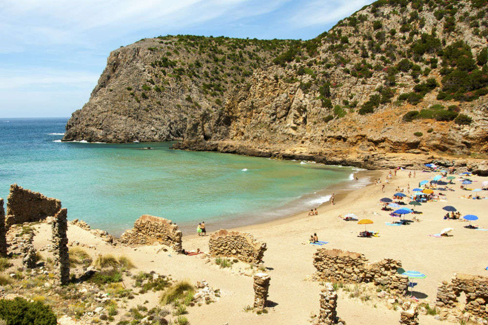 Punta Molentis Beach
