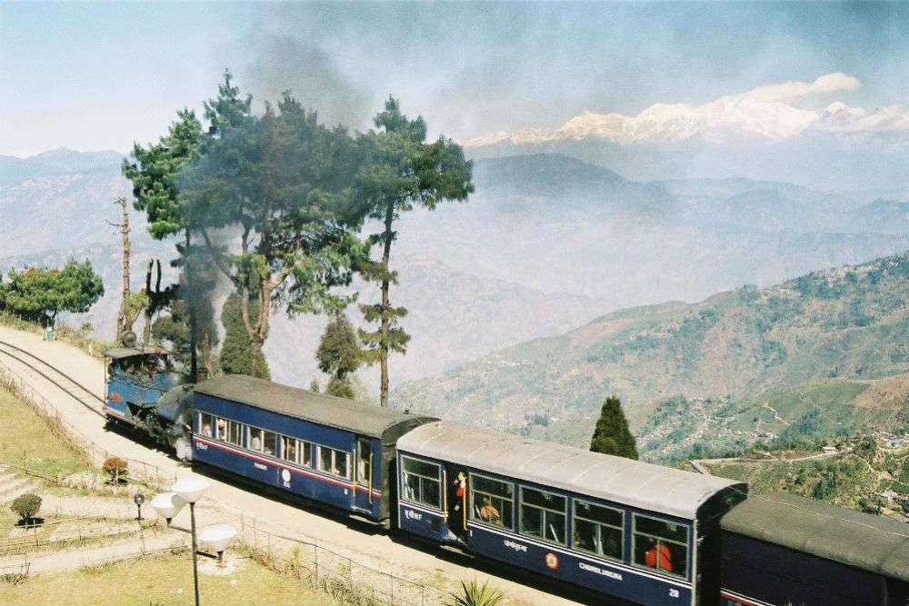 Romancing the Darjeeling Himalayan Railway