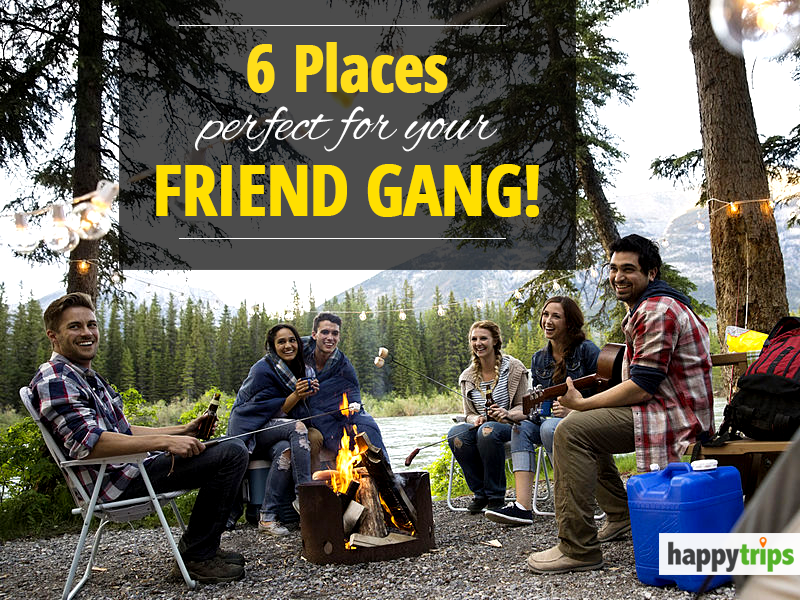 6 places perfect for your friend gang!